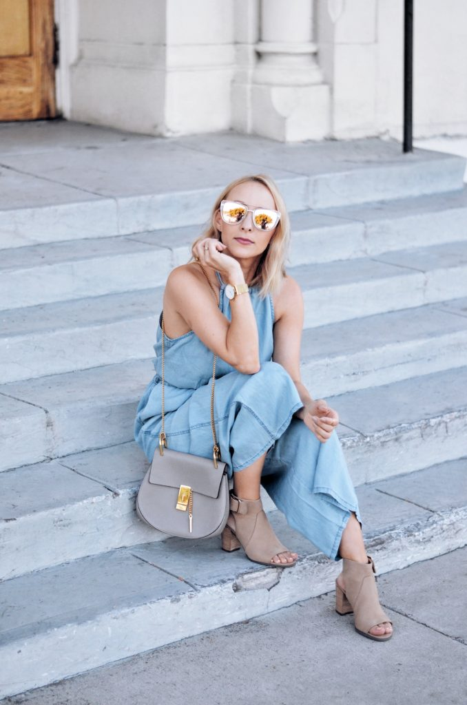 summer outfit idea jumpsuit