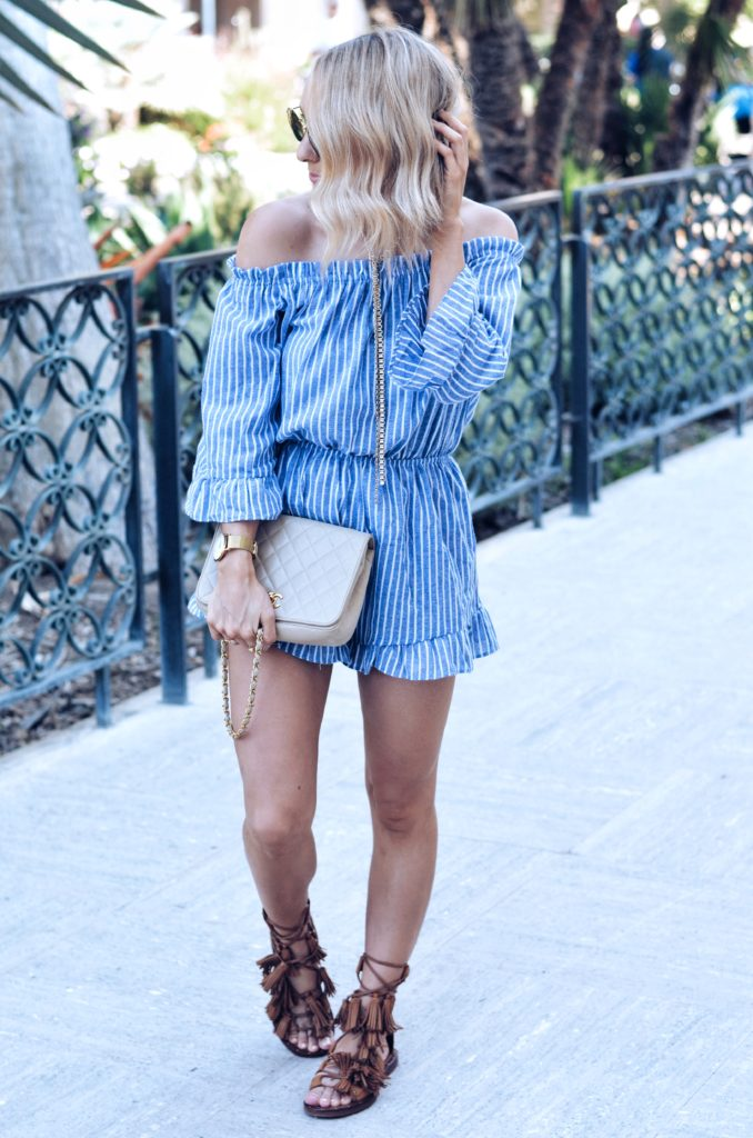 how to wear a romper for summer