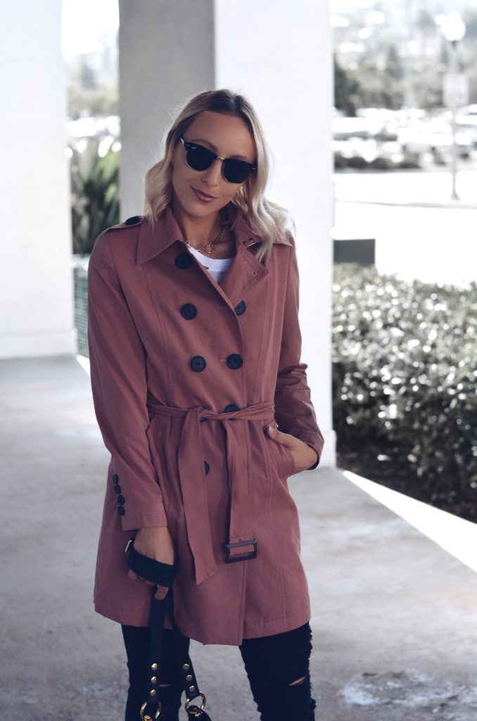Cute trench coat for fall