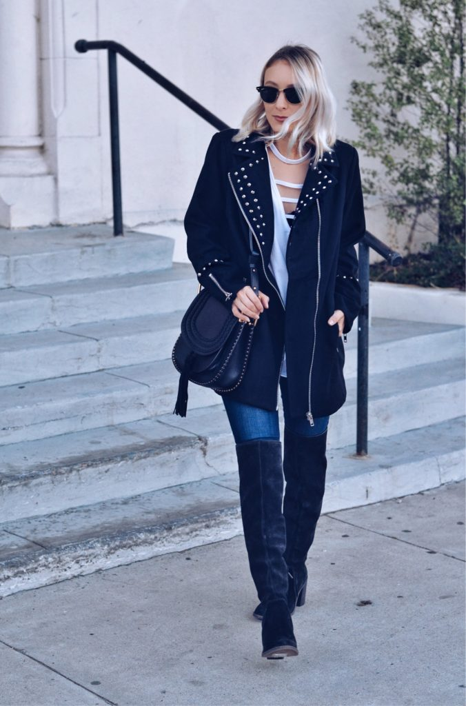 What to wear with over-the-knee boots