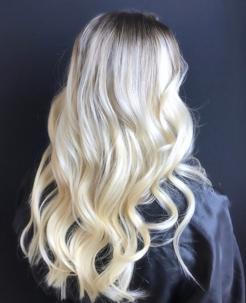 What my hair looks like after hair extensions